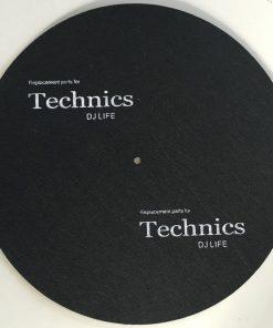 """Technics filtmåtte - """"DJ Life"""" (Plademåtte)"""