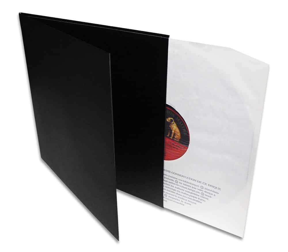 "12"" Sort Die-cut jacket - Gatefold"