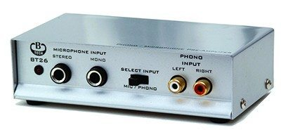 "B-Tech ""BT 26"" Phono/Mikrofon forforstærker (RIAA/Forforstærker)"