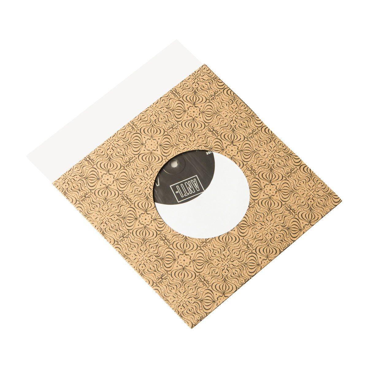 """7"""" Inner Sleeve - Hvid Papir (Sleeves)"""