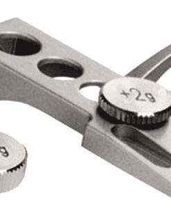 Analogis Headshell HS-11 med 2 eksta vægte (Sølv) (Headshells)