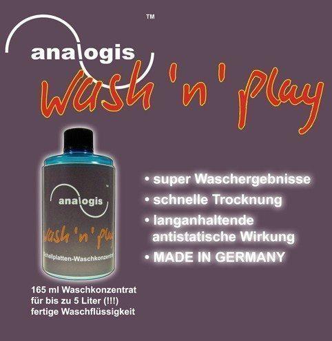 Analogis Wash 'n' play - Rensekoncentrat (Rengøring)