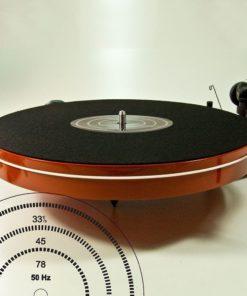 Analogis Mat Eight - Filt m. Stroboskop skive (Plademåtte)