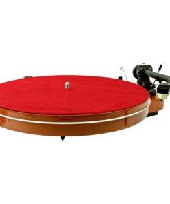 Analogis Mat Six - Læder (Rød) (Plademåtte)
