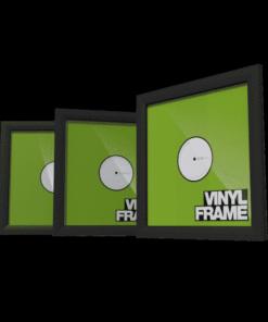 Glorious Vinyl Frame Set (3 stk.) (Sort) (Væghylder/ophæng/Platforme)