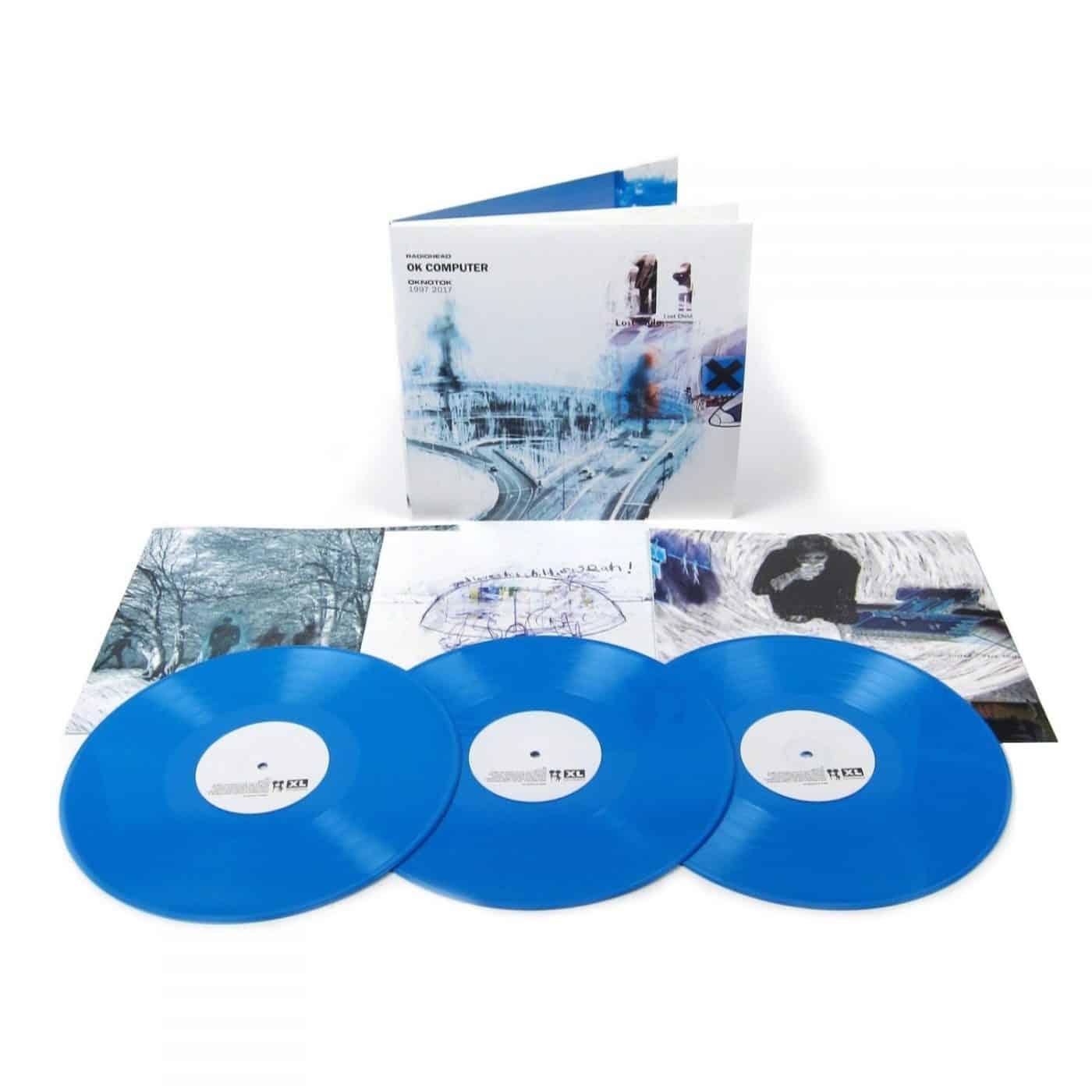 Radiohead Ok Computer Oknotok 1997 2017 Bl 229 Vinyl