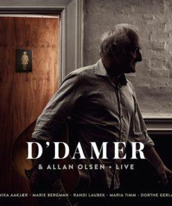 Allan Olsen - D'Damer & Allan Olsen Live (Vinyl)