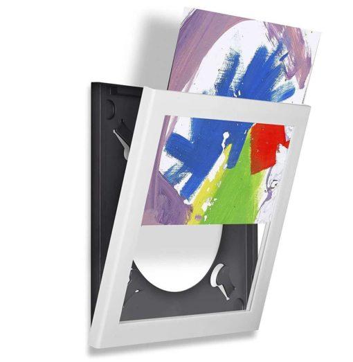 Show And Listen - LP Flip Frame (Hvid) (Væghylder/ophæng/Platforme)