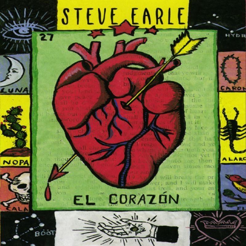 Steve Earle - El Corazón (Vinyl)